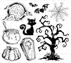 Easy Halloween Drawing by Easy Halloween Drawings