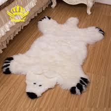 tappeti di pelliccia rownfur tappeti di pelle di pecora australiana orso di