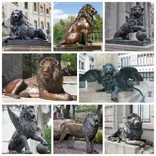 foo dogs for sale hot sale mascot bronze lucky animal bronze foo dogs lion