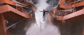 spiderman homecoming hd wallpaper background 3358x1402
