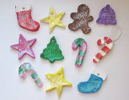 easy christmas ornaments easy handmade christmas tree ornaments