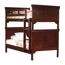 Bunk Bed Nightstand Twin Twin Casual Oak Bunk Bed U2013 Adams Furniture