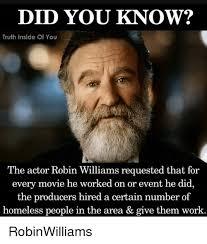 Robin Williams Meme - 25 best memes about robin williams robin williams memes