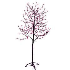 enchanted garden 6 5 fuchsia led tree at menards