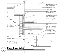 metal staircase detail drawing best staircase ideas design