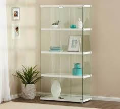 Modern Display Cabinet Australia Gallery 4 Shelf Glass Cabinet Storage Storage U0026 Office