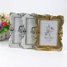 Diy Wedding Album 2017 Antique Gold And Silver Photo Frame For Picture Plastic Photo