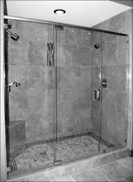 Ceramic Tile Bathroom Ideas Tiny Bathroom With Corner Square Glass Shower Stall Amidug Com