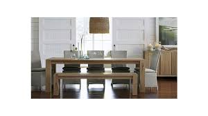crate and barrel dining room tables crate and barrel dining room photo gallery image of big sur