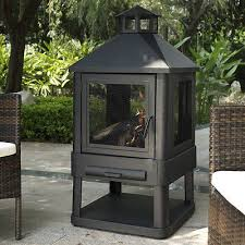 Outdoor Metal Fireplaces - outdoor patio fire pit backyard fireplace heater wood stove metal