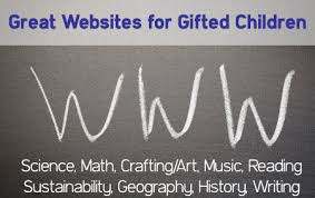 best websites for gifted children and students
