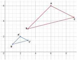 dilations definition u0026 examples math tutorvista com