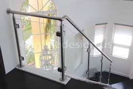 single stainless steel glass railing stairs living modern excerpt