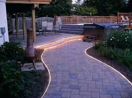 Led Pathway Landscape Lighting Outdoor Pathway Lighting Led Sidewalk Garden Design