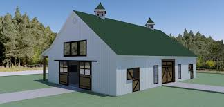 barn floor plans for homes equestrian living quarters