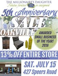 the oakville store is turning 5 years old the millionaire u0027s