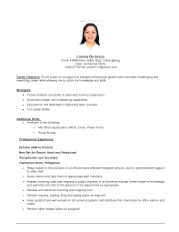 resume mission statement examples cover letter sample resume objective statements for customer cover letter customer service sample resumes resume for cashier and customer example of get ideas how