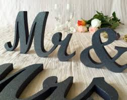mr and mrs wooden etsy