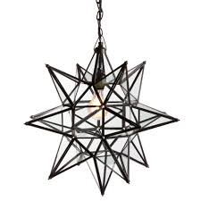 Star Chandeliers Lighting Wonderful Candle Chandelier Non Electric For Modern