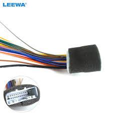20pin car audio stereo wiring harness adapter for nissan subaru