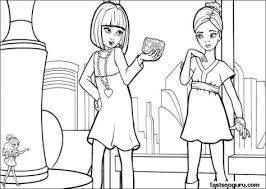 barbie thumbelina coloring pages printable barbie thumbelina violet and makena coloring pages