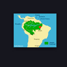 Amazon World Map by The Amazon Rainforest Thinglink
