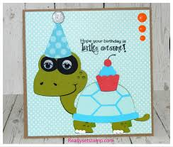 turtle birthday card and news about my coming absence youtube