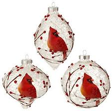 raz imports graphic woodland 4 snowy cardinal tree