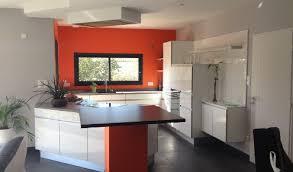 cuisine orange et noir best cuisine blanche et contemporary joshkrajcik us