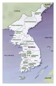 East Asia Map Maps Of North Korea Dprk Detailed Map Of North Korea In