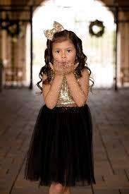 Flower Girls Dresses For Less - black and gold sequin dress fancy pants