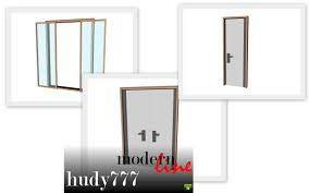 mod the sims modernline door set 30 01 2012 updated