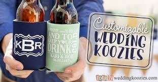 totallyweddingkoozies create your custom wedding can coolers