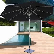 Tilting Patio Umbrella Galtech 8 X 11 Foot Aluminum Patio Umbrella Residential Patio