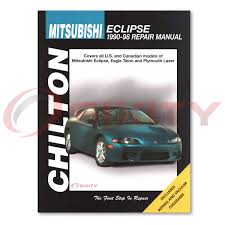 mitsubishi eclipse chilton repair manual spyder gst base gsx rs
