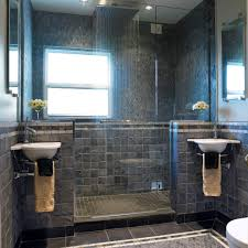 waterfall shower head bathroom transitional with bedroom built in