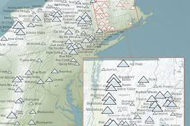 Usa East Coast Map How Many States Are Along The East And West Coasts Geolounge Map