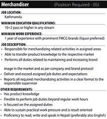 Merchandiser Duties Resume Job Description For Merchandiser 10 9 24 Job Description For