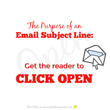Catchy Subject Lines For Resume Emails Resume Email Subject Lines How To Write An Email Marketing