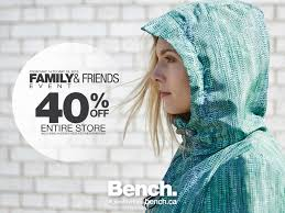 Bench Clothing Canada Bench Canada Family And Friends Event 40 Off