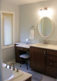 Bathroom Vanity With Makeup Counter by Mhi Interiors July 2012