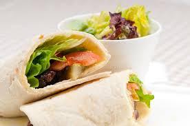 arab wrap kafta shawarma chicken pita wrap roll sandwich stock image image