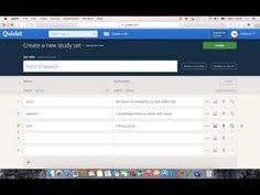 quizlet tutorial video what is quizlet and what does it do youtube education 2