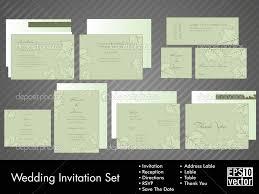 Wedding Invitation Packages Wedding Invitation Kits 10 Complete Wedding Invitation 16204