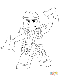 lego ninjago lloyd the green ninja coloring page free printable