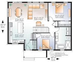 House Plans Open Concept Impressive Idea 13 Modern Open Concept Bungalow House Plans 17