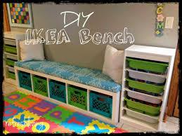 ikea benches with storage diy storage bench with ikea shelf refresh living