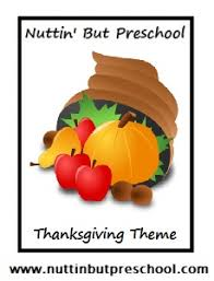 thanksgiving preschool theme nuttin but preschool
