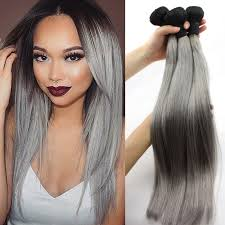 silver hair extensions colored human hair hairnparis hair