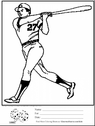 marvelous baseball coloring pages with baseball coloring page